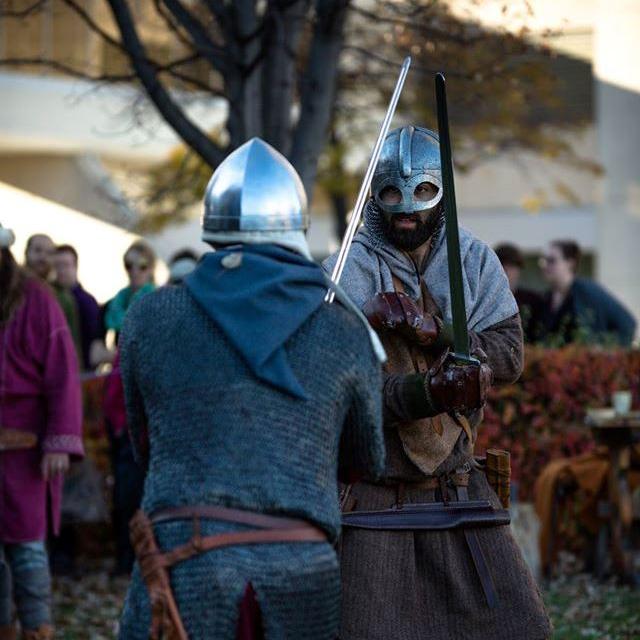 Viking vS Norman Combat!