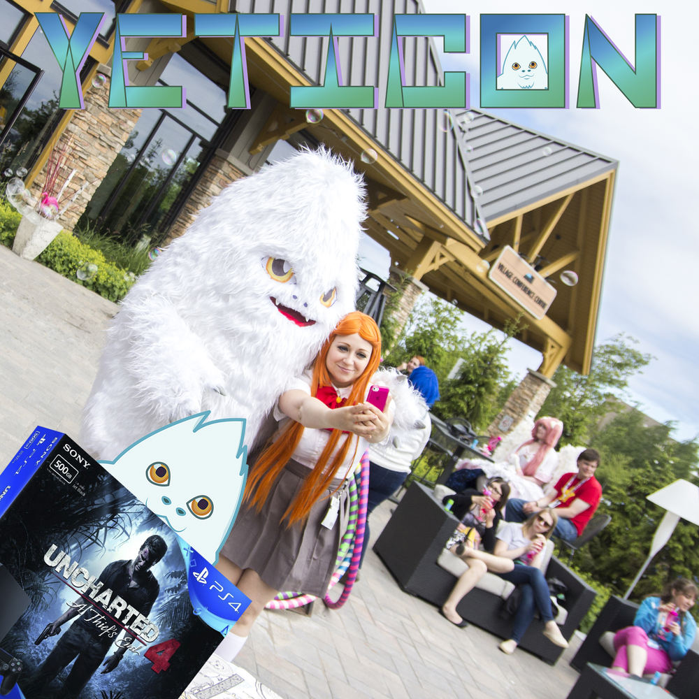 Capture the Yeti:win a pS4!