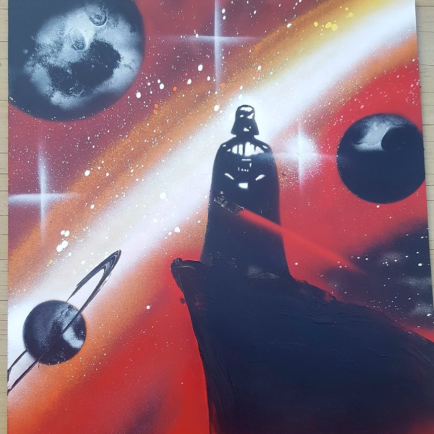 Spray Paint Art by Nathan Salmon
