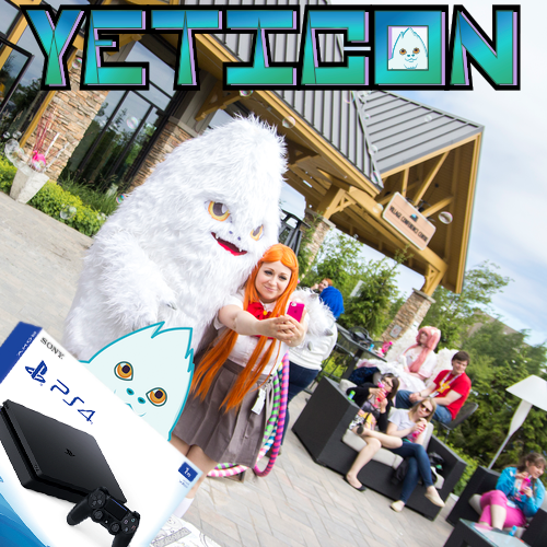 Capture the yeti, win a pS4!