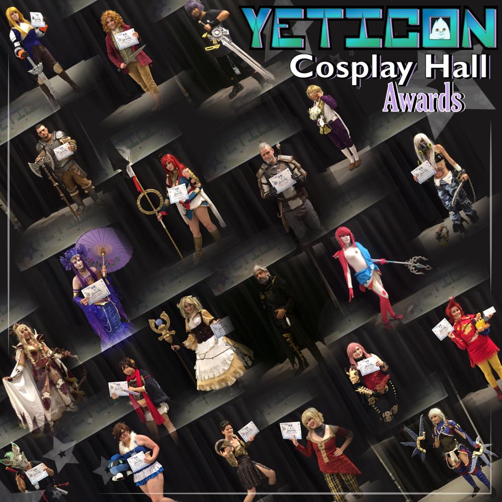 $3000+ Cosplay Hall Awards!