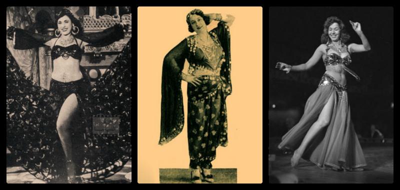 Taheya Carioca, Badia Masabni, Samia Gamal