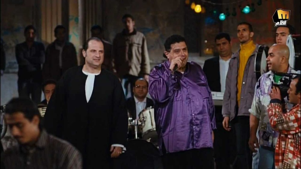Scene from the Egyptian Film El Farha (The Wedding)