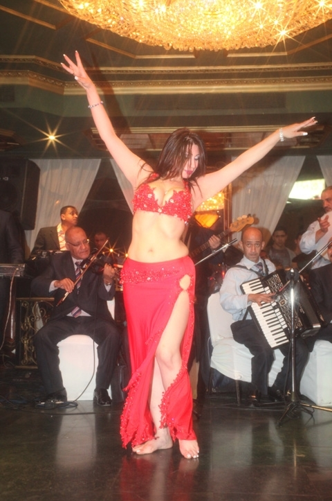 Egyptian Belly Dancer Aziza of Cairo