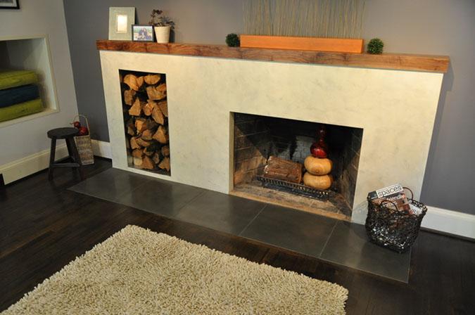 Southwest Portland Remodel Fireplace