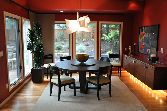 Garden Home Remodel Dining Room