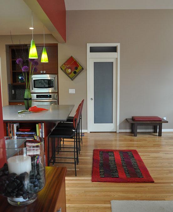 Garden Home Remodel Hallway