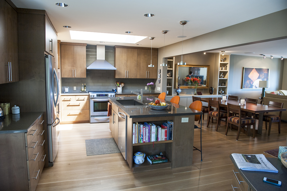 Lake Oswego Contemporary Remodel Kitchen