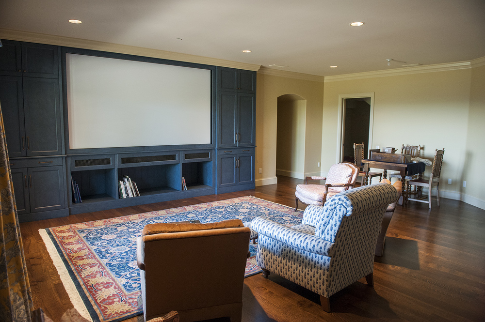 Lake Oswego Custom Home Theater