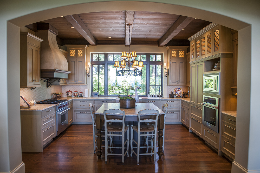 Lake Oswego Custom Home Kitchen