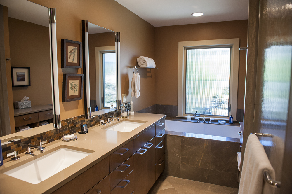 Lake Oswego Contemporary Remodel Bathroom