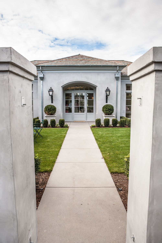 West Hills Portland Custom Home Entrance