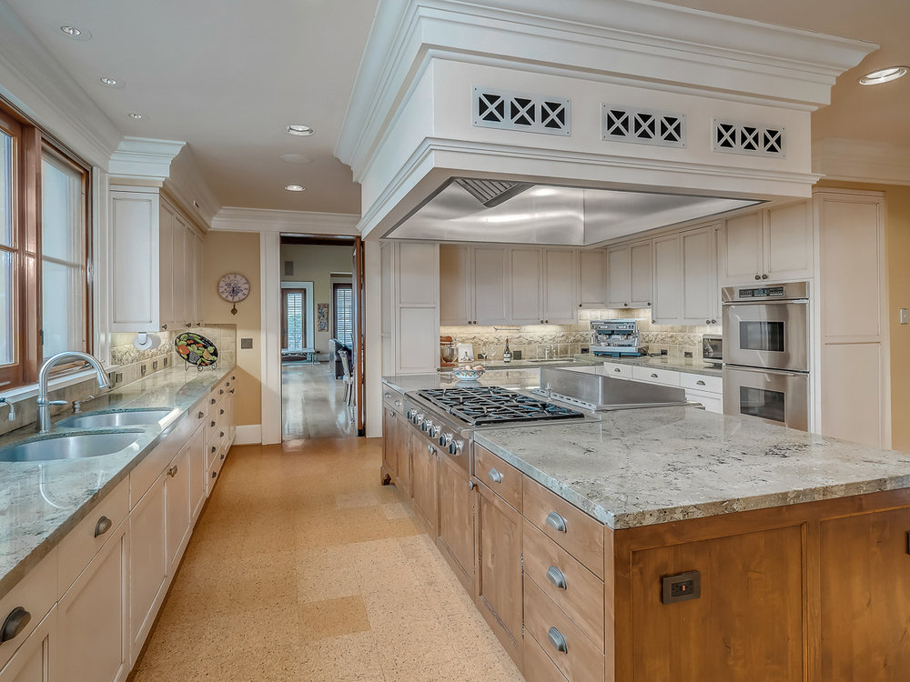 Yamhill County Custom Home Kitchen