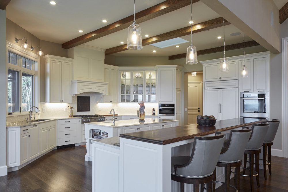 Newberg Custom Home Kitchen