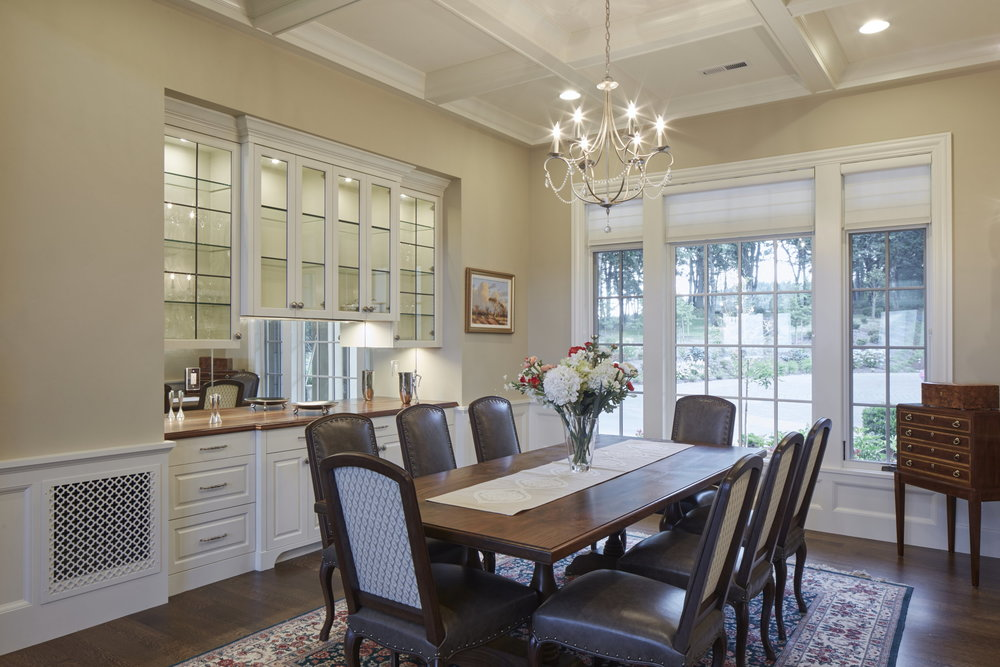 Newberg Custom Home Dining Room