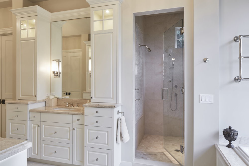 Newberg Custom Home Master Bathroom