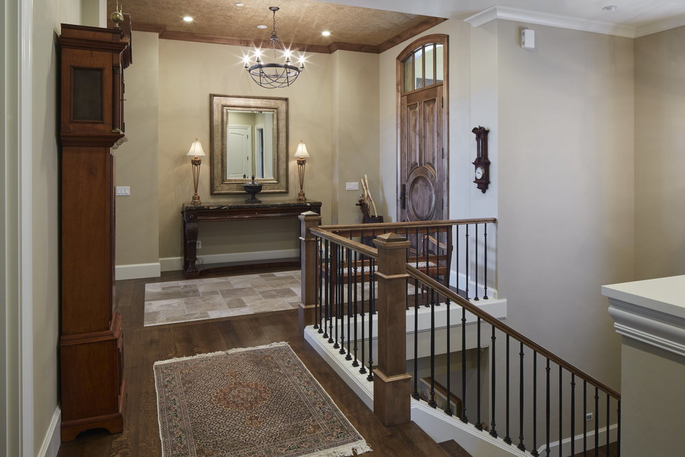 Newberg Custom Home Foyer