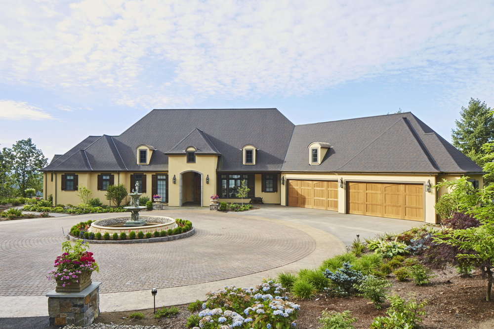 Newberg Custom Home Driveway