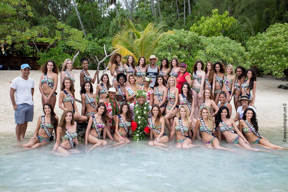 Great to shoot the Miss France and Regional Miss on Moorea, French Polynesia!