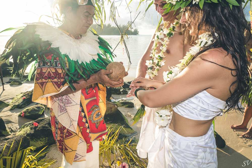 Destination Wedding in Moorea, French Polynesia, Tahiti