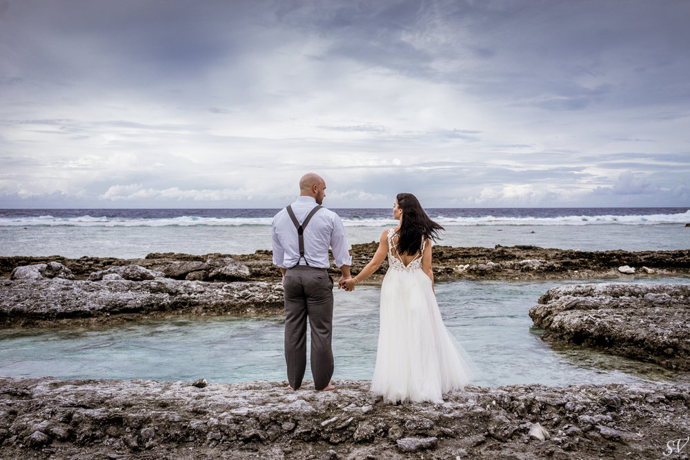 Honeymoon at the Four Seasons, Bora Bora PhotographerHoneymoon between Katy Hearn and Haydn Schneider photographed by sv photograph at the Four Seasons Bora Bora