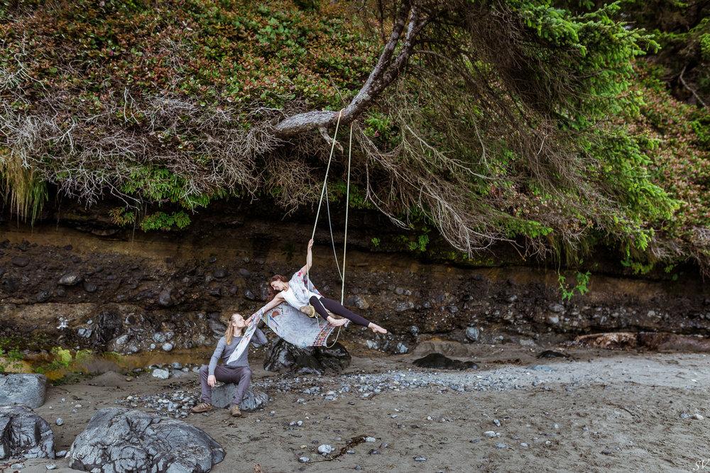engagement shoot - Jen + Yvan - Sooke - Vancouver Island
