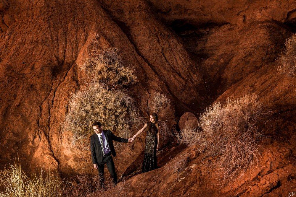 engagement shoot - Amoriese + Kyler - Utah