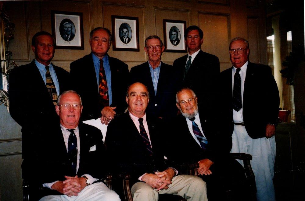THE OFFICERS: TERRY UPSON, JIM CARTHAUS, PETE BROADBENT, SCOTT HERSTIN, TOM MACKELFRESH, TORREY FOSTER, BOB WENZEL, TED GAULT