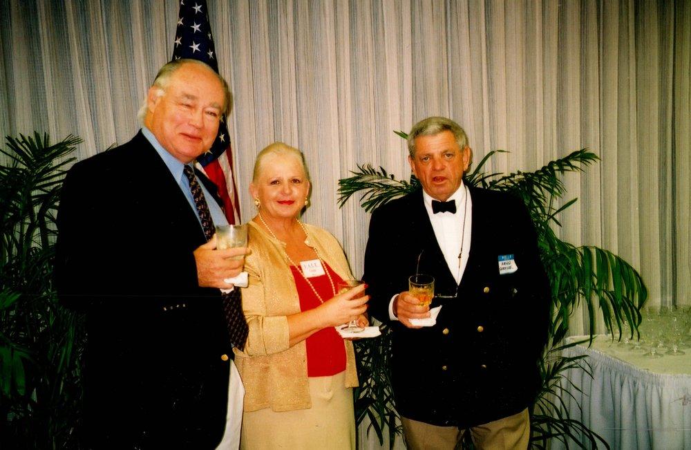 LINDA AND JIM CARTHAUS '62, ARNOLD GARFINKEL '62MA