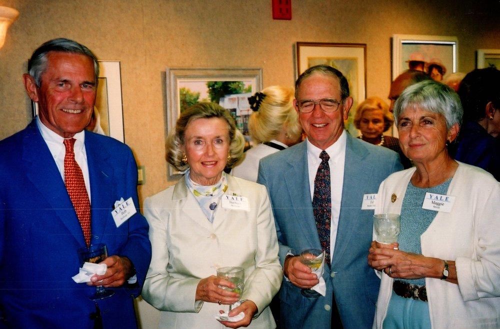 BARBARA AND BOB SULLIVAN '53, MAGGIE AND ED SMITH '53E