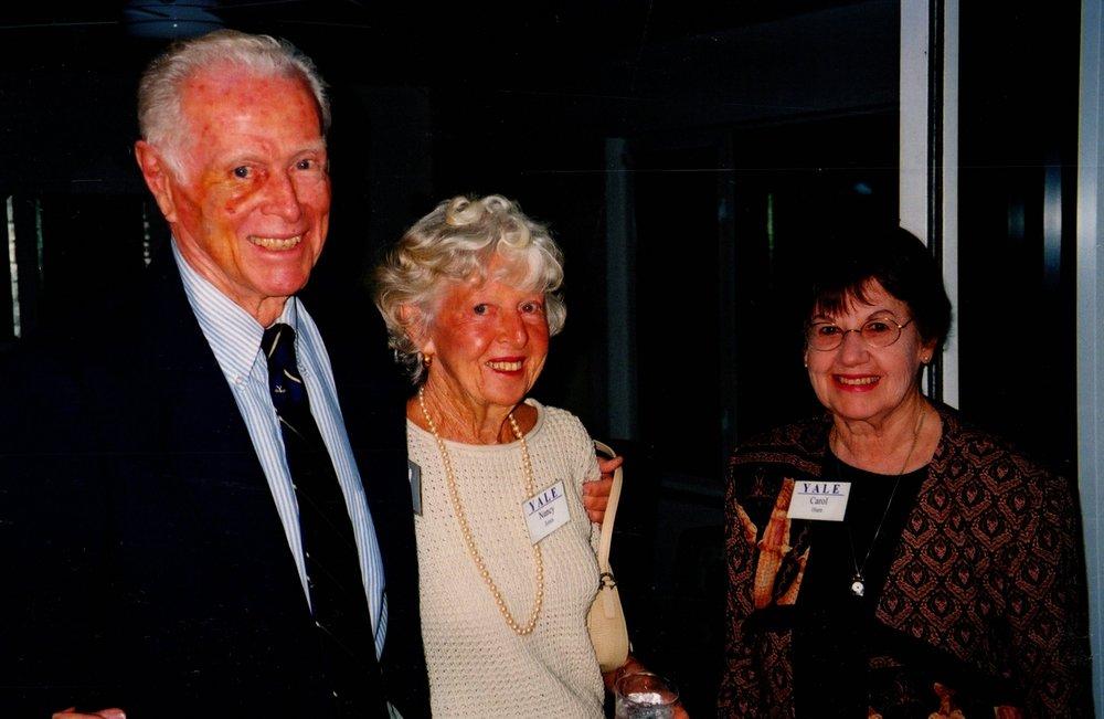 NANCY AND TOM JONES '40S, CAROL HUNT