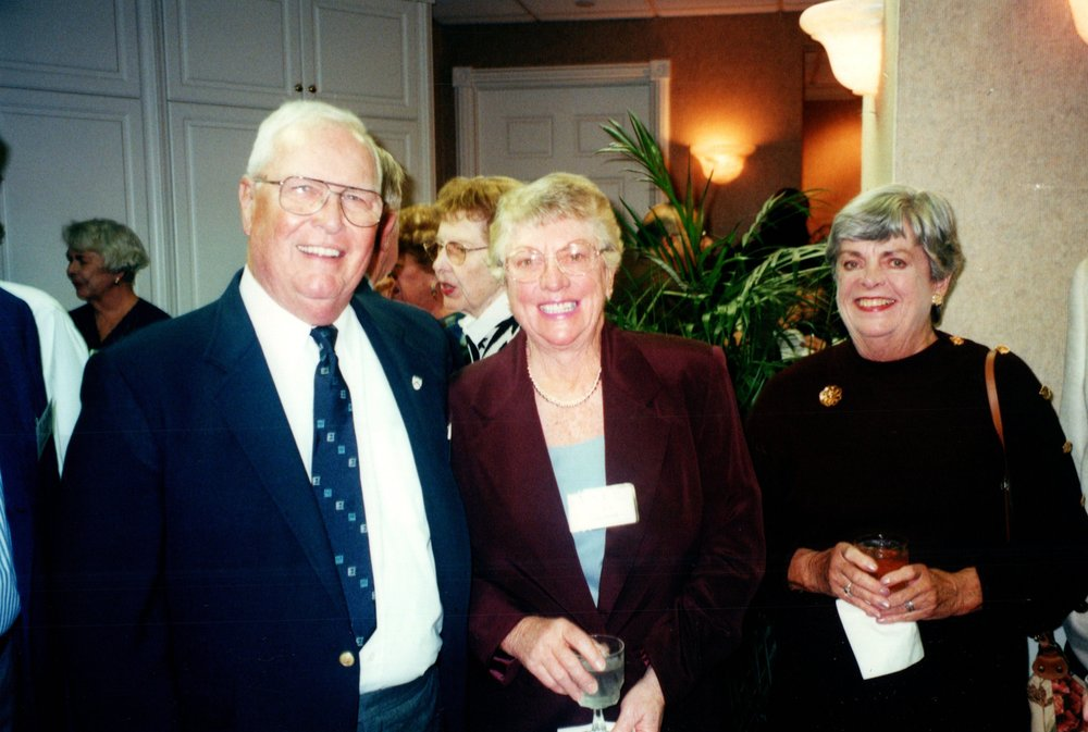 DORIS AND TOM MACKELFRESH, MARY GOULD