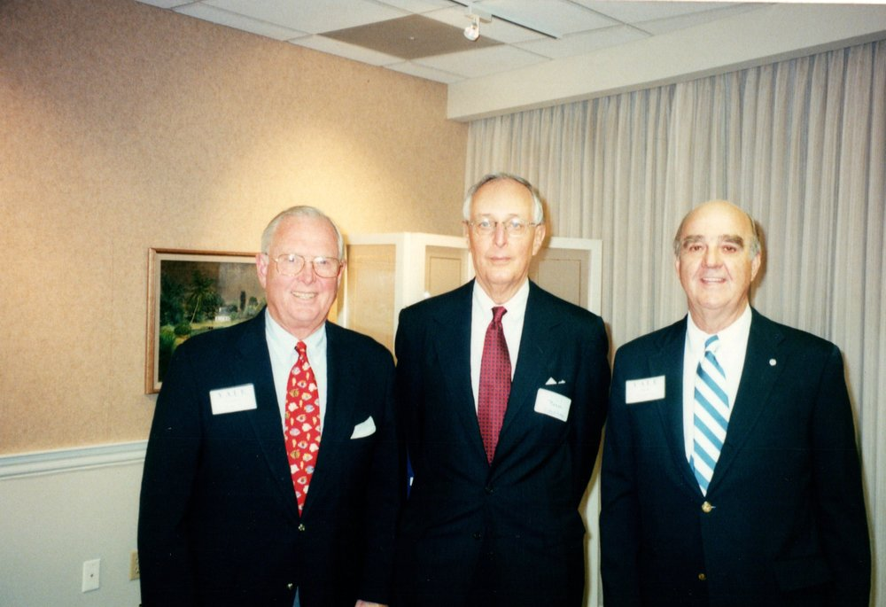 TORRY FOSTER '56, ROGER HORCHOW '50, BOB WENZEL '53E