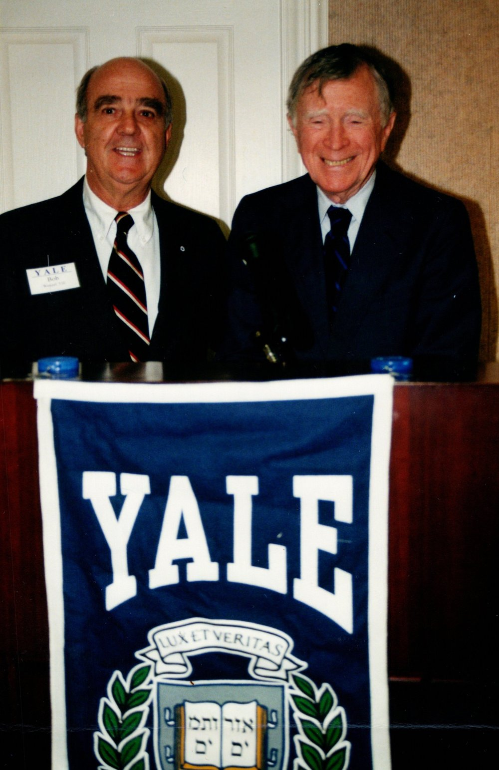 BOB WENZEL '53E, VINCENT SCULKG, JR., '40BA, '47MA, '49PHD