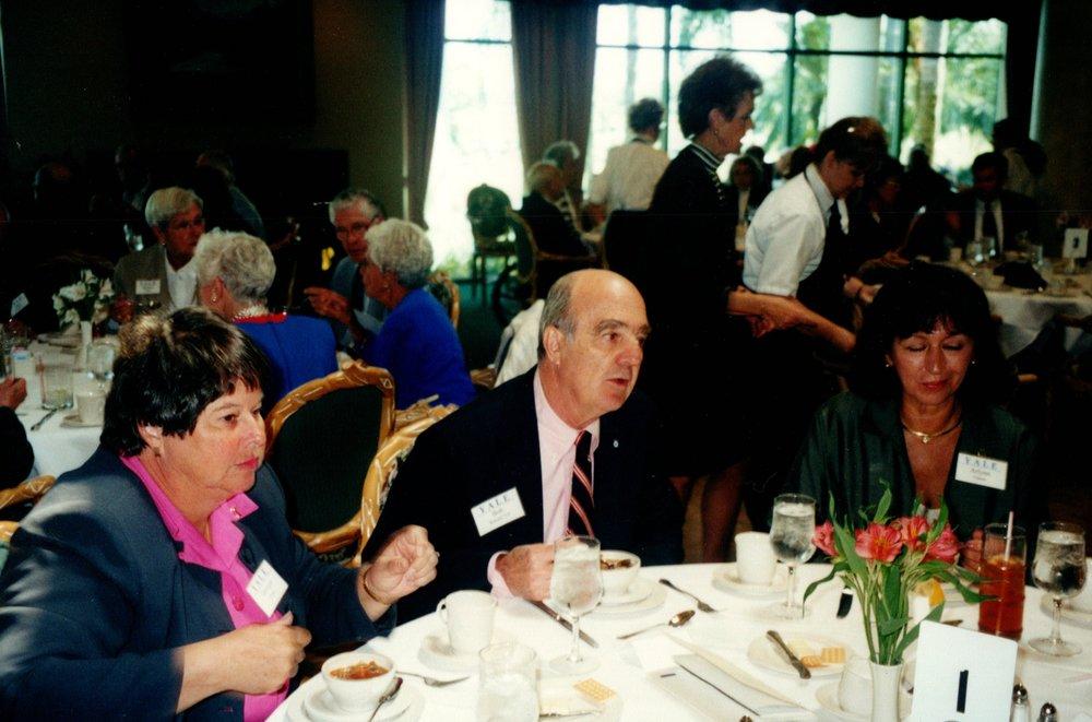 GEORGIE FOSTER, BOB WENZEL, ARLYNN UPSON