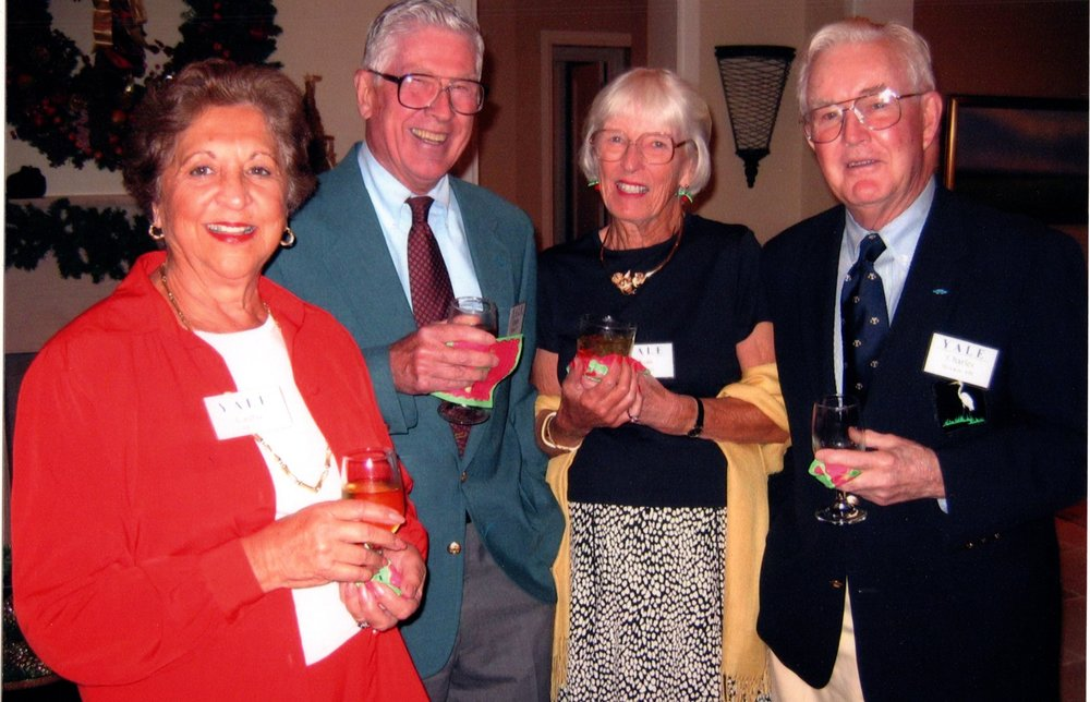 LAURIE AND CHARLIE MORSS, JOAN AND CHARLIE BROOKS