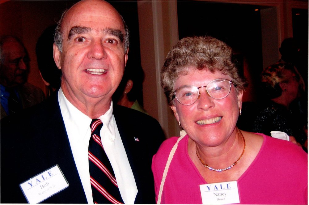 BOB WENZEL, NANCY BRUCE