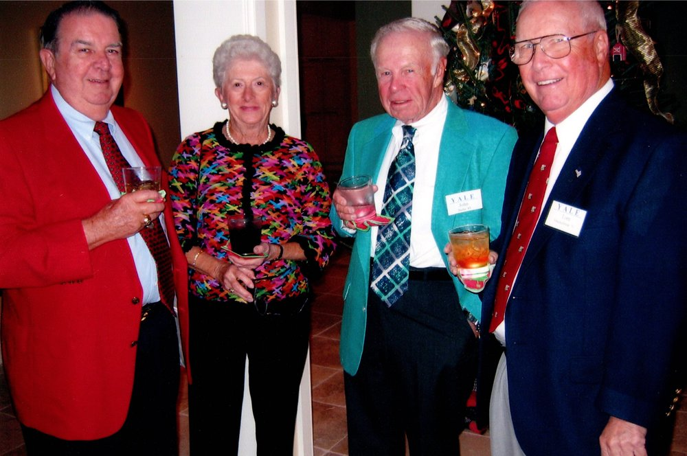 DICK BENNETT, MARILYN AND JOHN BEEBE, TOM MACKELFRESH