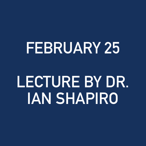 2_25_2009 - LECTURE BY DR. IAN SHAPIRO - NORTHERN TRUST CO..jpg