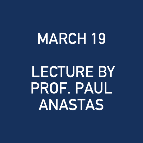3_19_2009 - LECTURE BY PROF. PAUL ANASTAS - NORTHERN TRUST CO..jpg