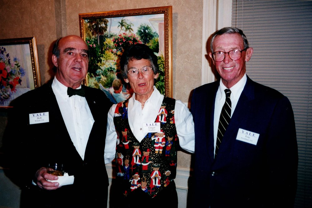 BOB WENZEL, GINGER AND PETE BROADBENT