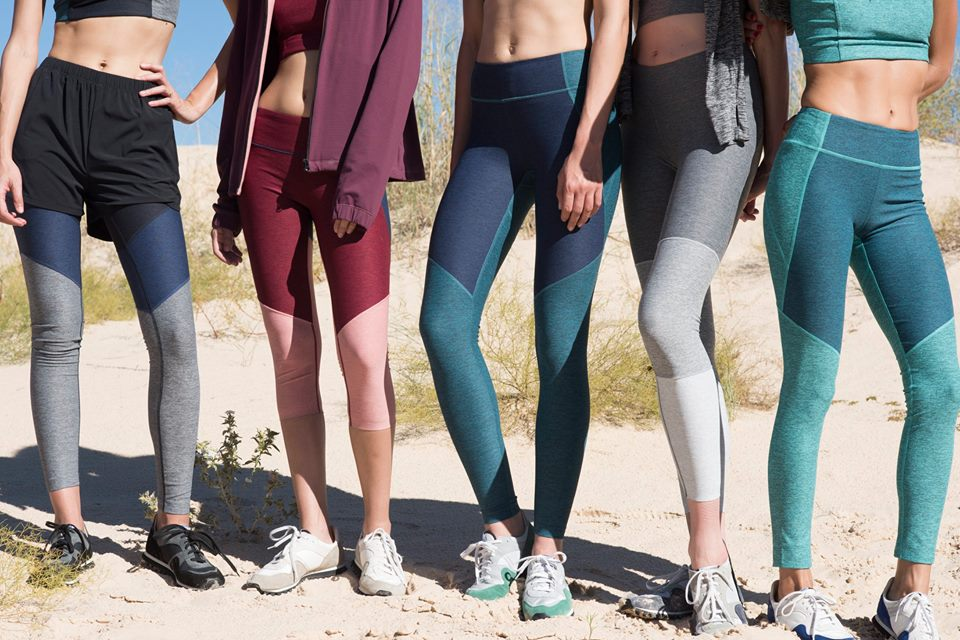 Outdoor Voices leggings. Image courtesy of Outdoor Voices.