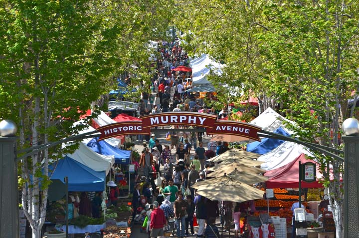 Downtown Sunnyvale Farmers Market