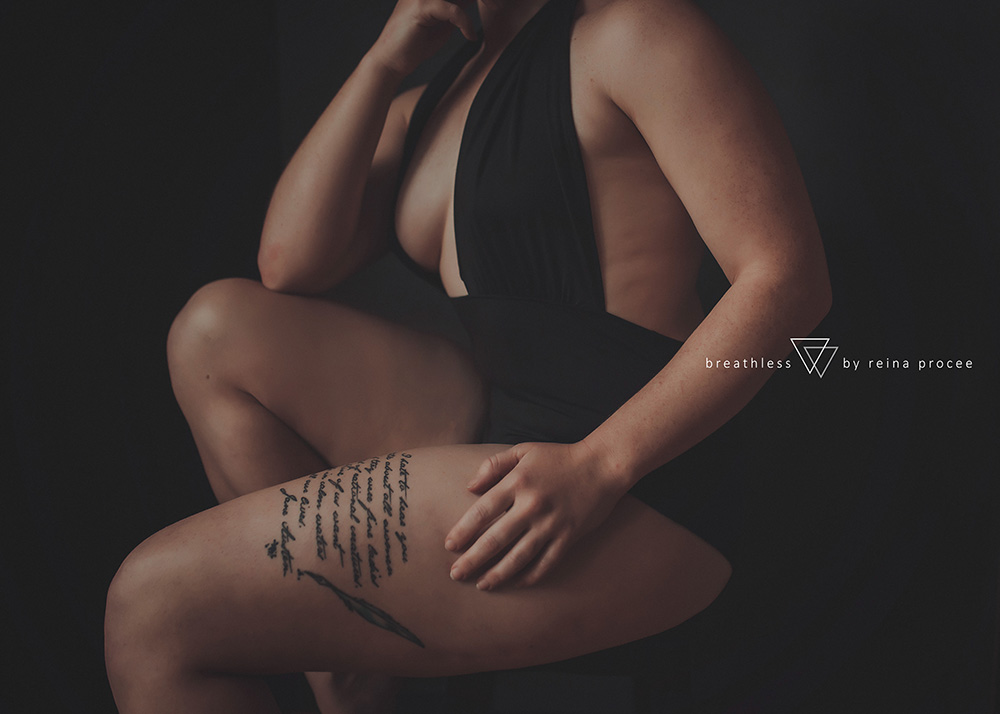 the beauty in her strength - montreal portrait photographer - boudoir