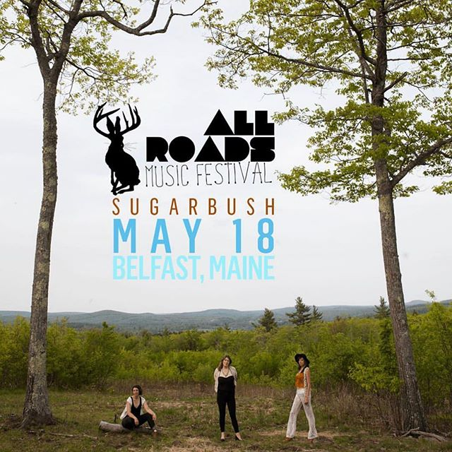 See you at @allroadsmusicfest this May! Can't wait and let us know if you'll be there!