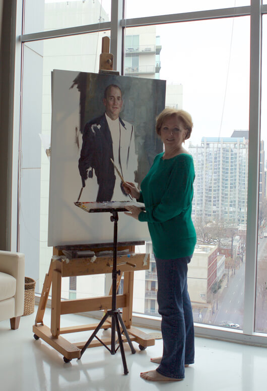 Carol's studio in Midtown, Atlanta