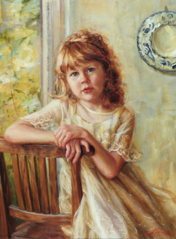 """Maggie"", Carol Baxter Kirby, 2002. Private Collection."