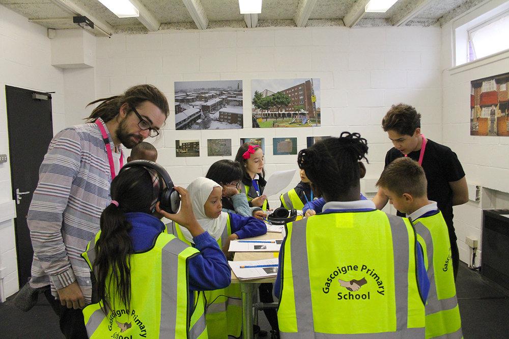 Gascoigne School visit