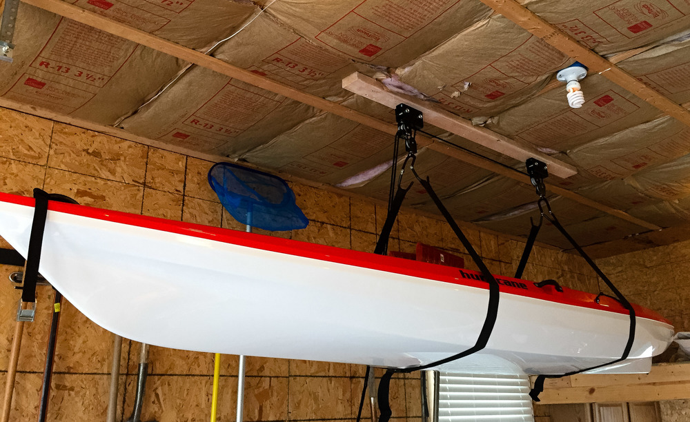 Get Your Kayaks Properly Stored With A Hoist Storage