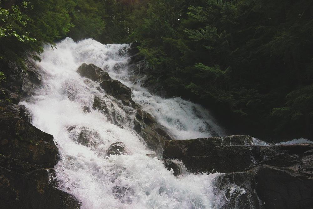 McIntosh Falls - Henry M. Jackson Wilderness, WA